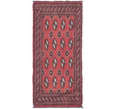 Image of 1' 8 x 3' 7 Torkaman Persian Rug