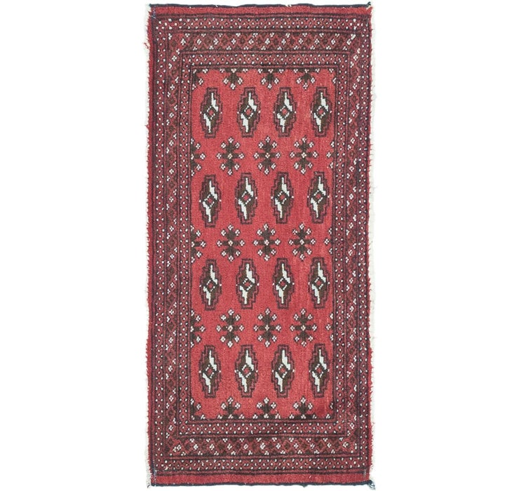 Image of 1' 8 x 3' 7 Torkaman Persian Rug