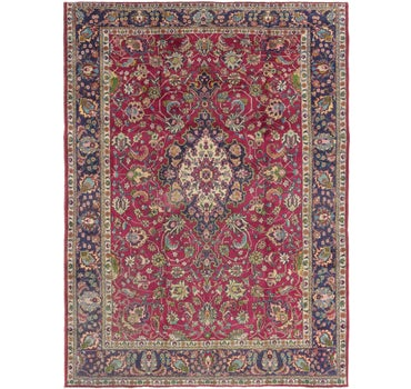 10' x 13' 3 Tabriz Persian Rug main image