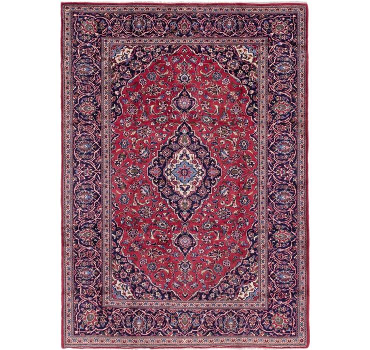 8' x 11' 2 Kashan Persian Rug