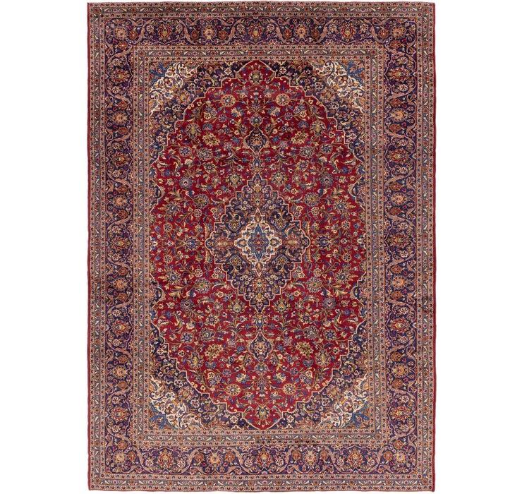 292cm x 415cm Kashan Persian Rug