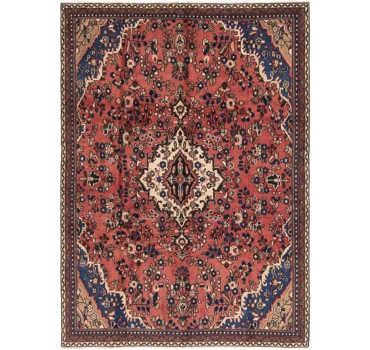 208cm x 290cm Hamedan Persian Rug