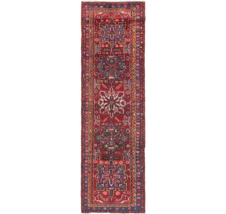 97cm x 318cm Gharajeh Persian Runner...