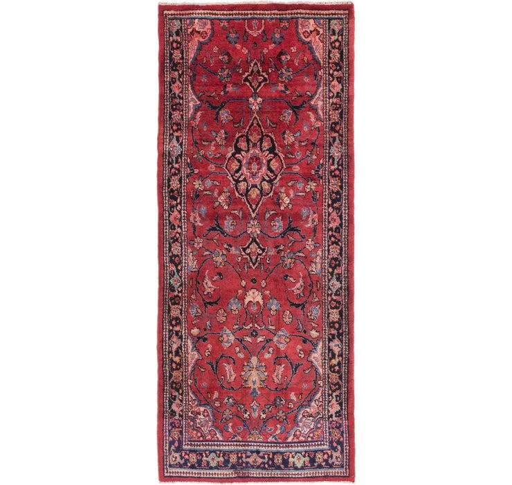 4' x 9' 8 Mahal Persian Runner Rug