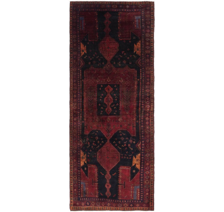 4' 6 x 12' 1 Sirjan Persian Runner Rug