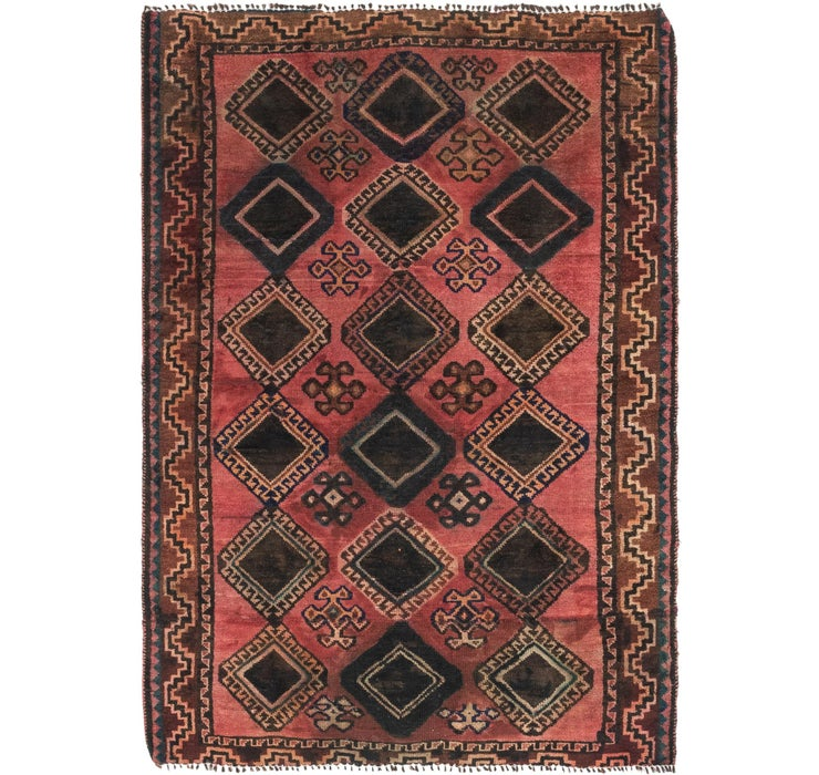 4' 7 x 6' 9 Shiraz Persian Rug