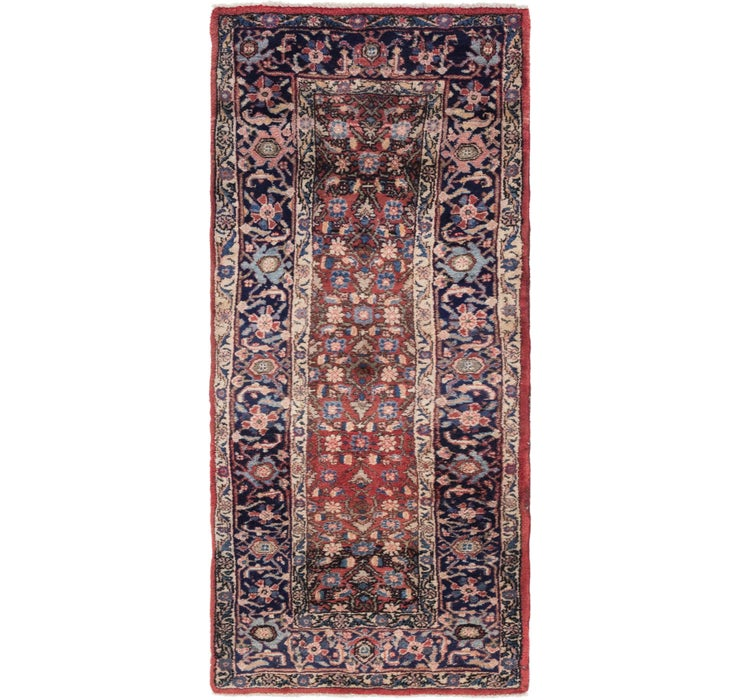 107cm x 235cm Gholtogh Persian Runner...