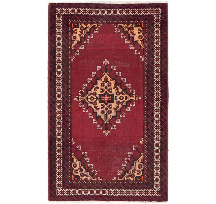 4' x 6' 10 Ferdos Persian Rug