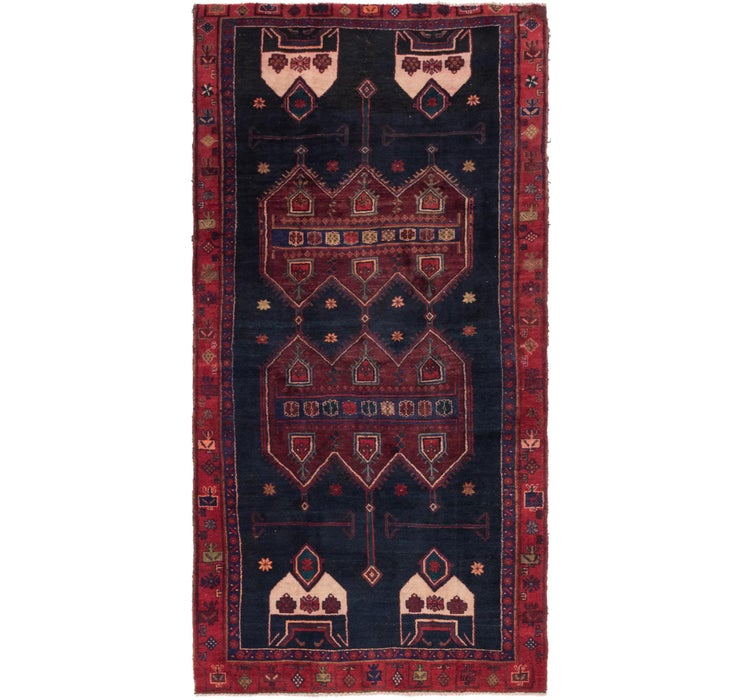 4' 8 x 9' 4 Sirjan Persian Runner Rug
