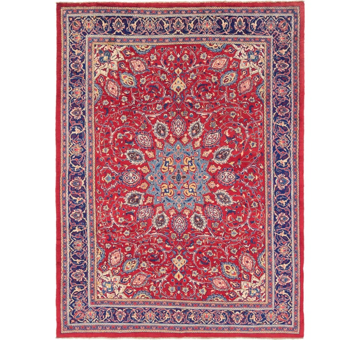 282cm x 373cm Mahal Persian Rug