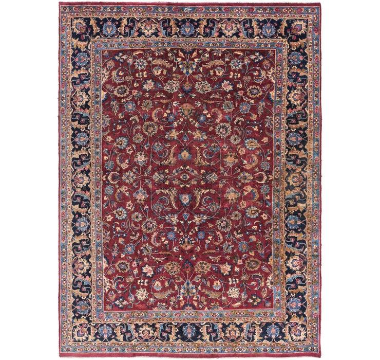 8' x 11' 3 Mashad Persian Rug