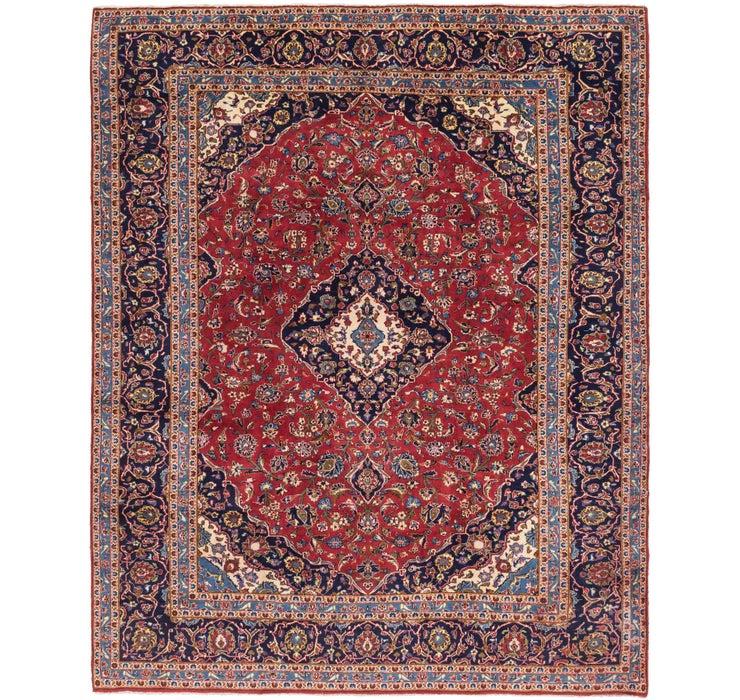305cm x 370cm Kashan Persian Rug