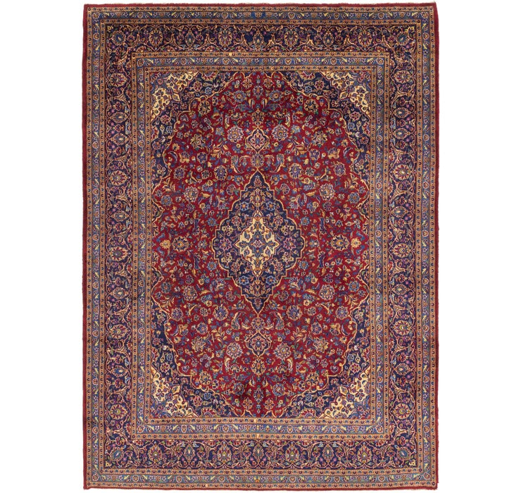 Image of 10' x 13' 5 Kashan Persian Rug