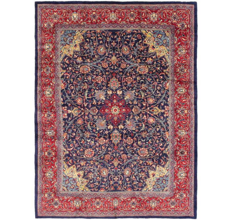 9' 8 x 13' Sarough Persian Rug