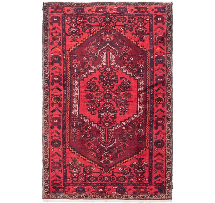 4' 2 x 6' 7 Zanjan Persian Rug