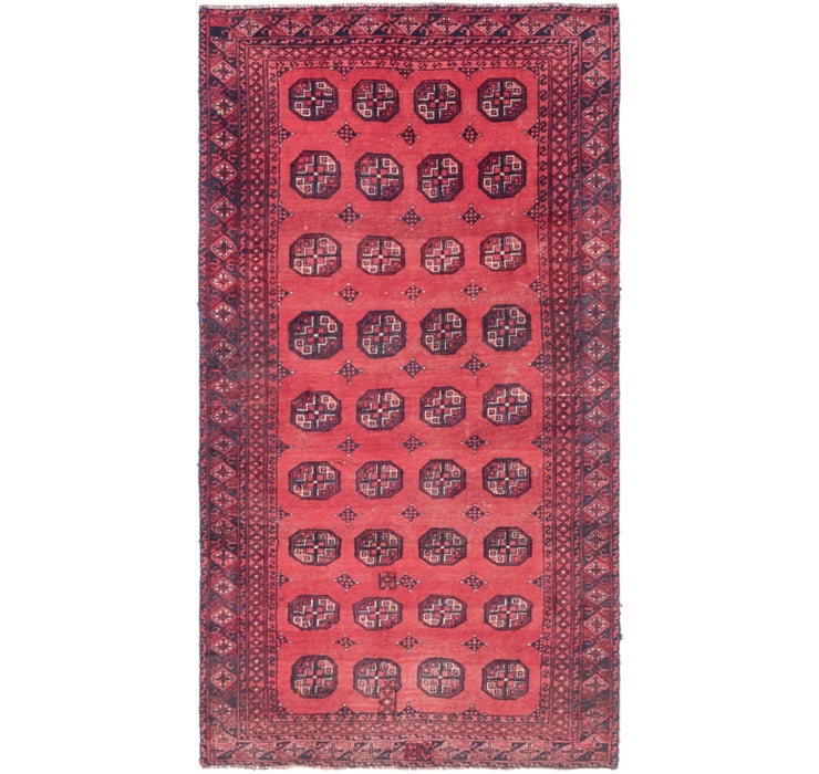 117cm x 218cm Shiraz Persian Runner Rug