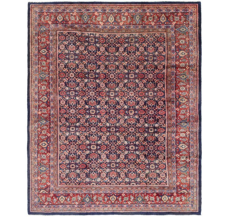 9' 9 x 12' 8 Farahan Persian Rug