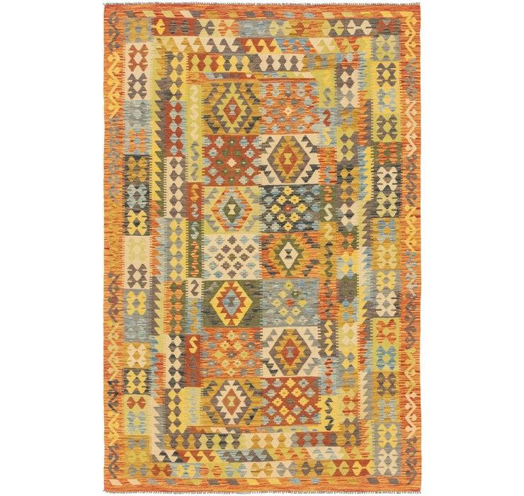 Image of 6' 5 x 9' 10 Kilim Maymana Rug