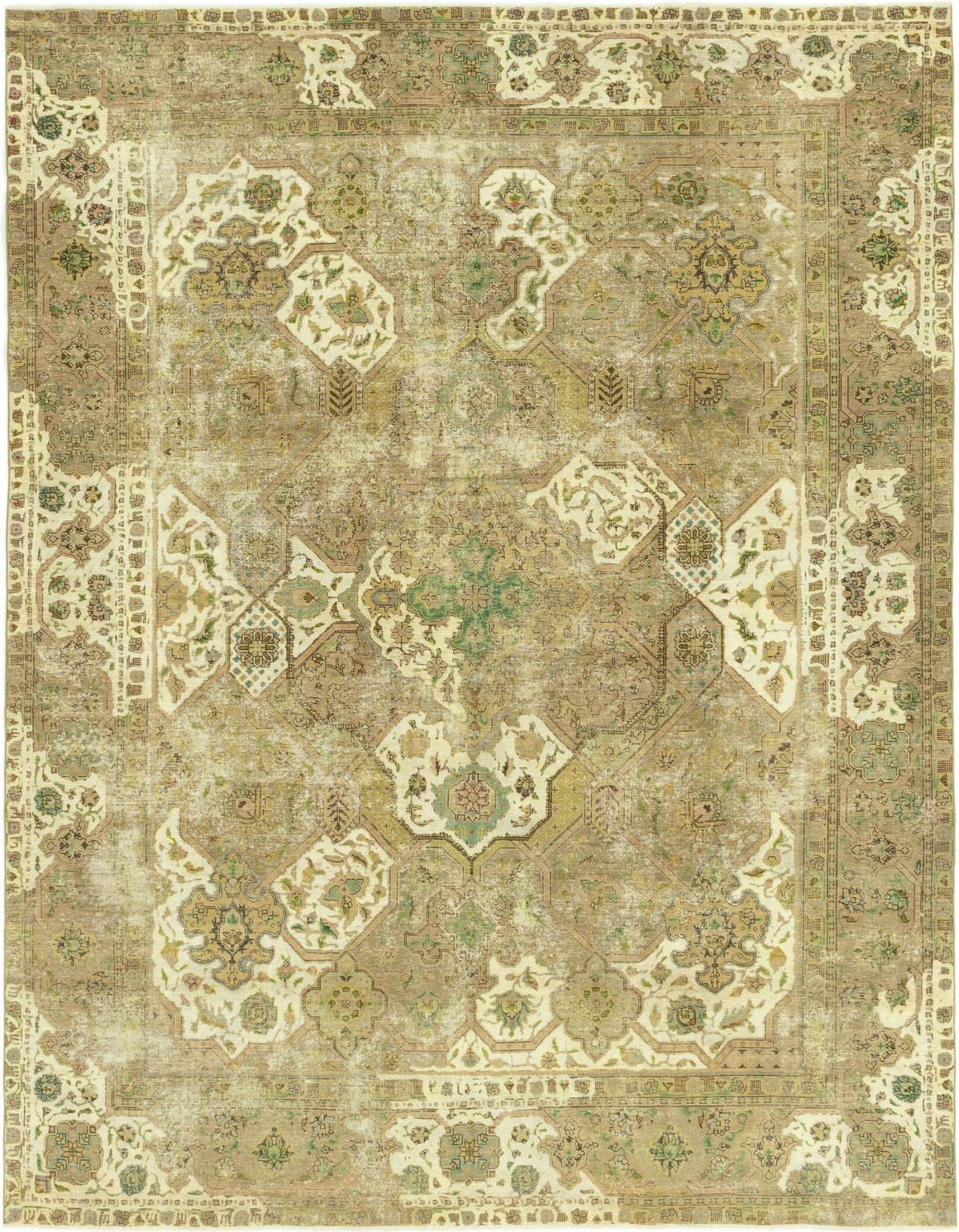 9' 7 x 12' 6 Ultra Vintage Persian Rug main image