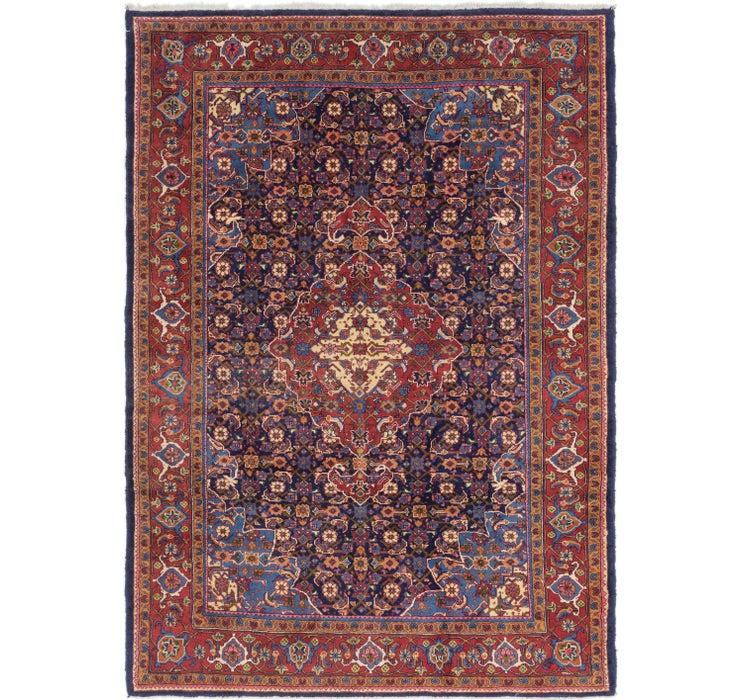 8' x 11' 5 Mahal Persian Rug