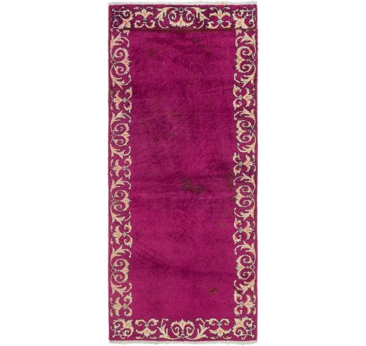 2' 10 x 6' 7 Tabriz Persian Runner Rug