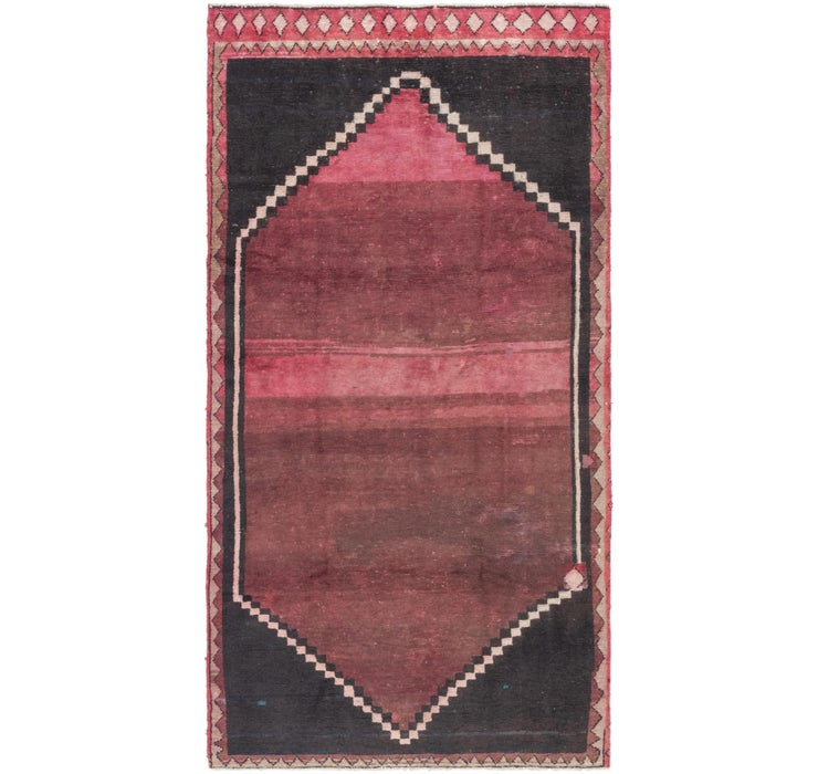 145cm x 287cm Shiraz Persian Runner Rug