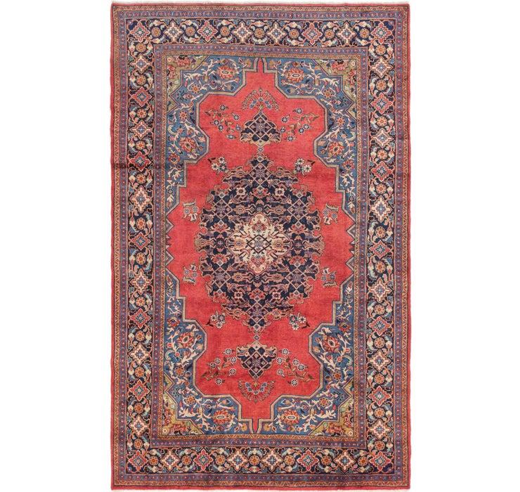 225cm x 375cm Golpayegan Persian Rug