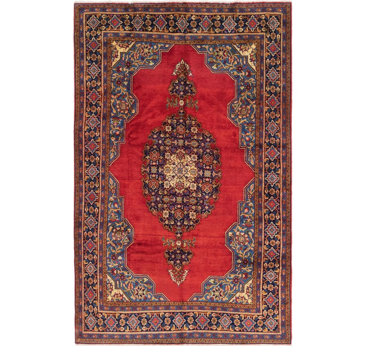 218cm x 335cm Golpayegan Persian Rug