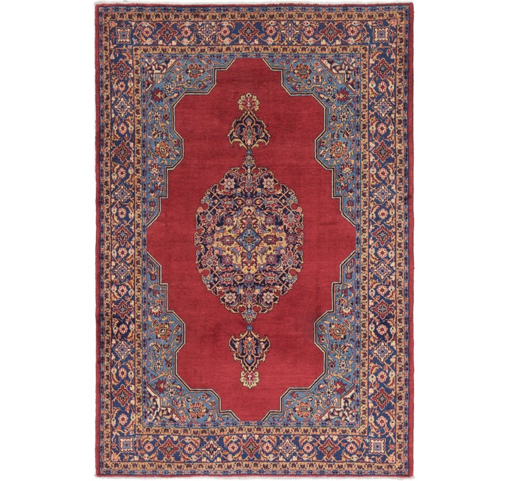 225cm x 335cm Golpayegan Persian Rug