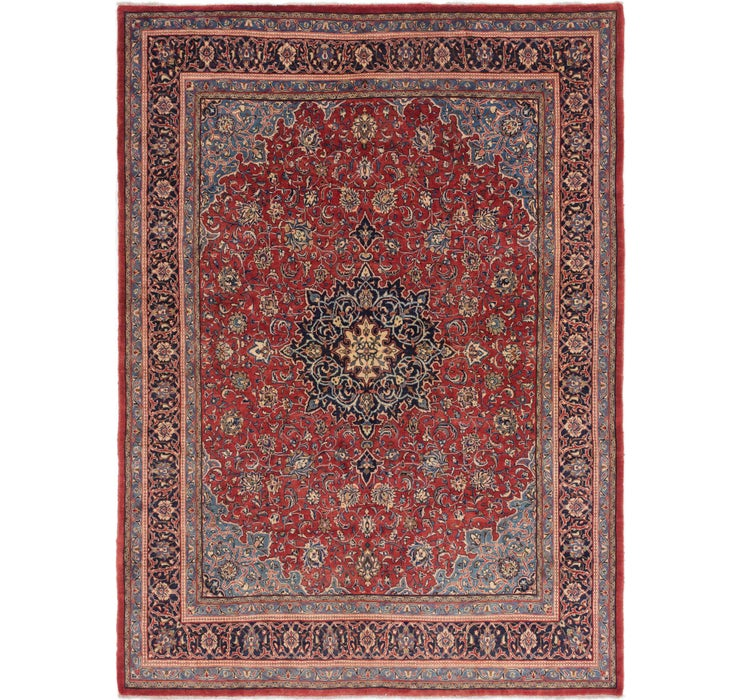 10' x 13' Sarough Persian Rug