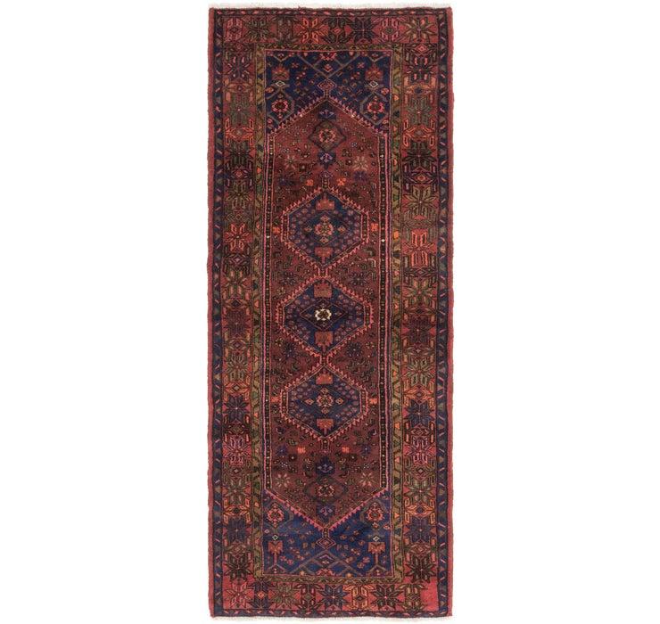 112cm x 300cm Zanjan Persian Runner Rug