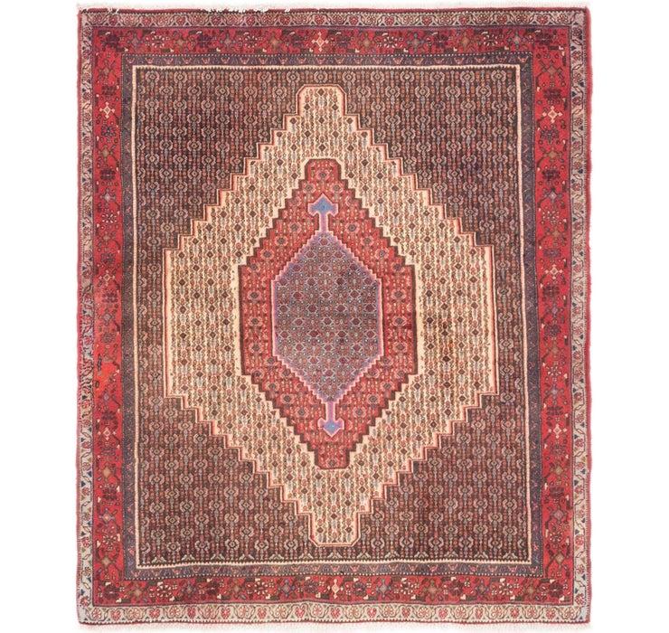 122cm x 142cm Sanandaj Persian Square...