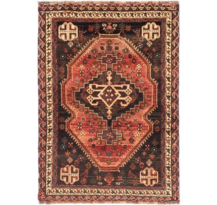 3' 9 x 5' 7 Ghashghaei Persian Rug