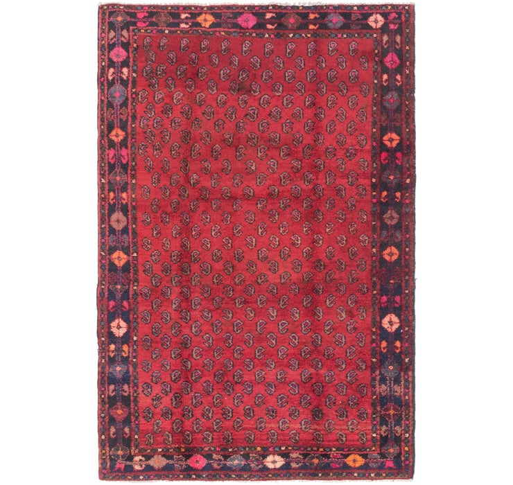 4' 6 x 7' Shiraz Persian Rug