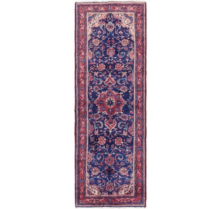 3' 6 x 10' 5 Mahal Persian Runner Rug