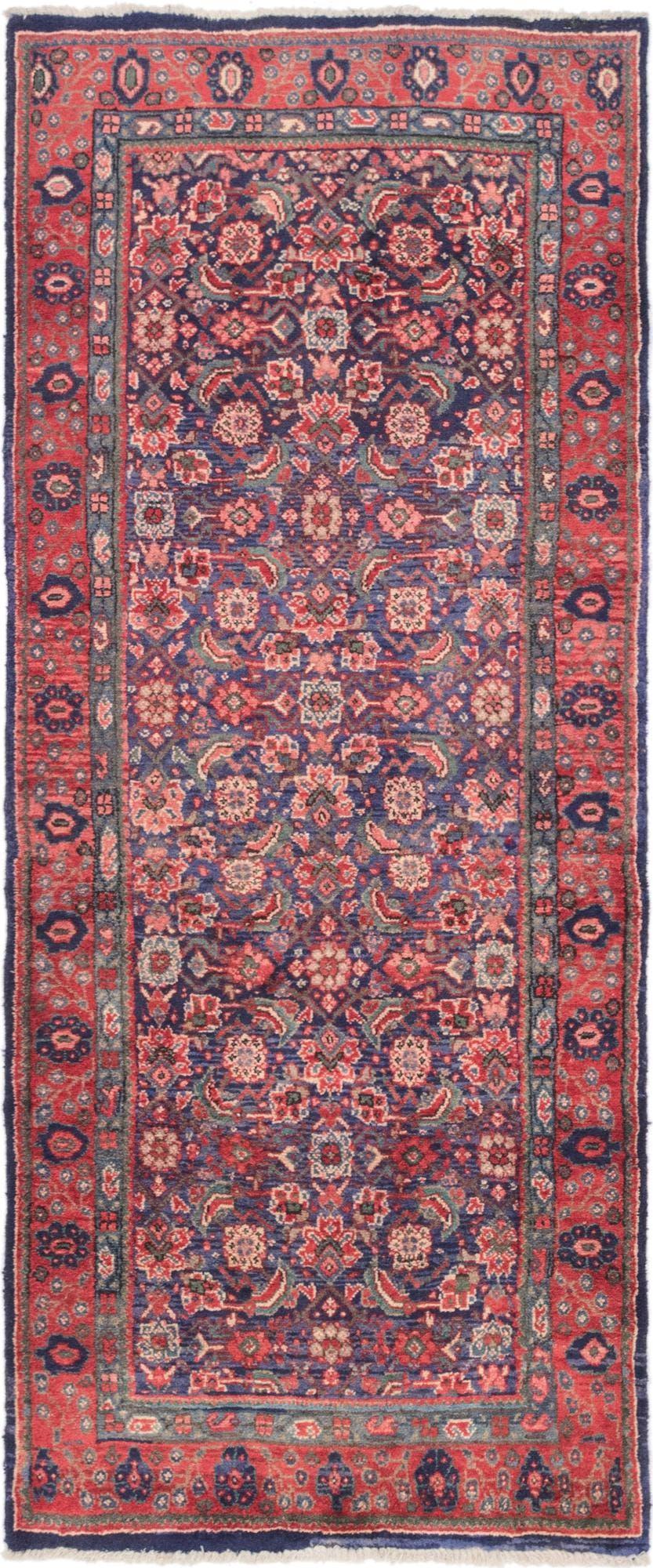 3' 7 x 8' 6 Sanandaj Persian Runner Rug main image