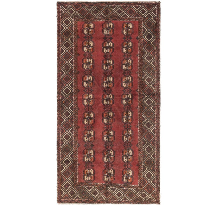 3' 4 x 6' 7 Shiraz Persian Rug
