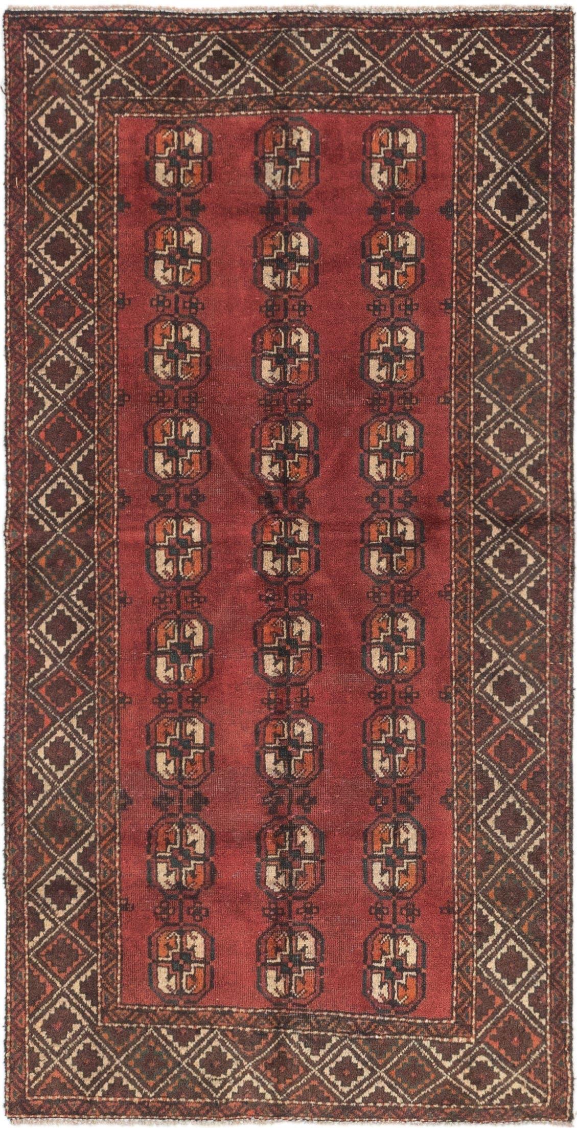 3' 4 x 6' 7 Shiraz Persian Rug main image