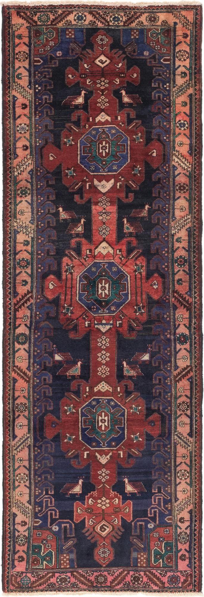 3' 6 x 10' 2 Zanjan Persian Runner Rug main image