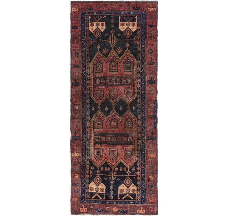 127cm x 318cm Sirjan Persian Runner Rug