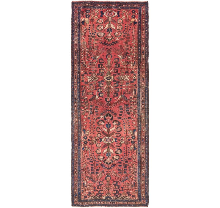 Image of 107cm x 320cm Mehraban Persian Runner...
