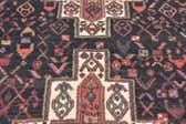 132cm x 275cm Senneh Persian Runner Rug thumbnail