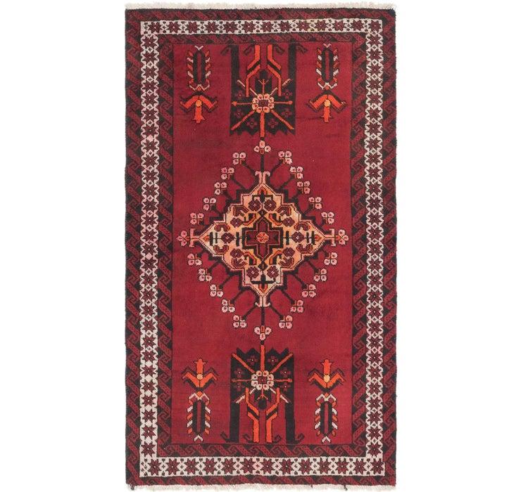 117cm x 208cm Ferdos Persian Rug
