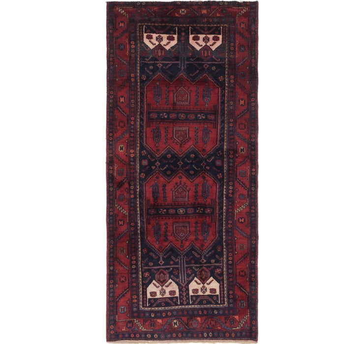 152cm x 335cm Sirjan Persian Runner Rug