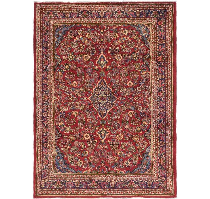 290cm x 390cm Mahal Persian Rug