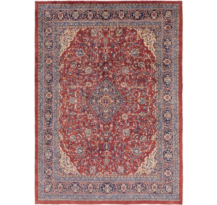 9' 9 x 13' 5 Sarough Persian Rug