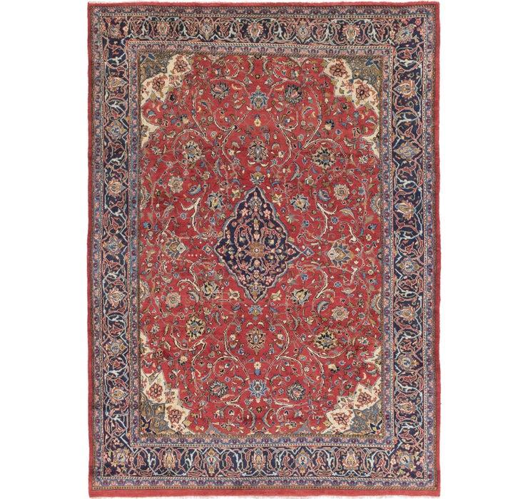 9' x 13' Sarough Persian Rug