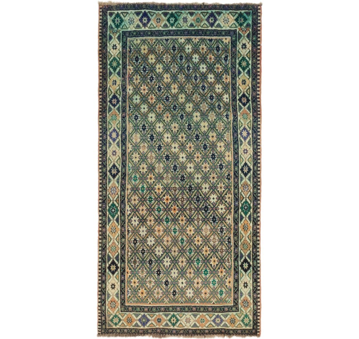 152cm x 295cm Ghashghaei Persian Runn...