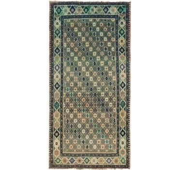 5' x 9' 8 Ghashghaei Persian Runner Rug main image
