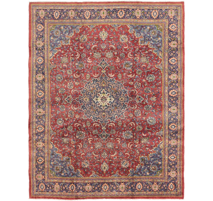 9' 10 x 12' 9 Sarough Persian Rug